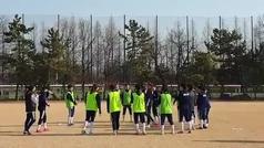 Eli del Estal celebra su cumpleaños en Corea del Sur