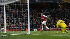 Europa League (octavos, vuelta): Resumen y goles del Arsenal 3-0 Rennes
