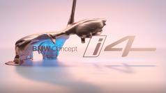 El BMW i4 Concept eléctrico empieza a dejarse ver