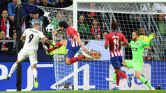 Supercopa de Europa 2018: Gol de Benzema (1-1) en el Real Madrid 2-4 Atlético