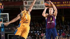 La lluvia de triples del Barça que destrozó al Gran Canaria