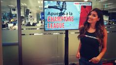 Champions League: Judith te descubre sus apuestas para la jornada 3
