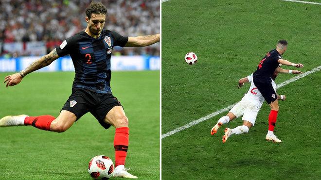 Croacia - Inglaterra  Mandzukic mete a una heroica Croacia en la ... babfe70dba4ab