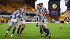 Premier League (J19): Resumen y goles del Wolverhampton 2-3 West Bromwich Albion