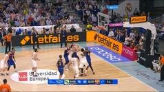Jaycee Carroll logra la canasta del año en la ACB