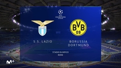 Champions League (J1): Resumen y goles del Lazio 3-1 Dortmund