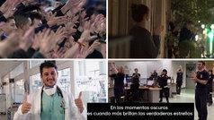 De la grada a los balcones: LaLiga envía sus aplausos y ovaciones a los héroes del coronavirus