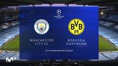 Champions League (1/4 ida): Resumen y goles del Manchester City 2-1 Borussia Dortmund