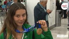 """Alegna González: """"Termino mi categoría como juvenil"""""""