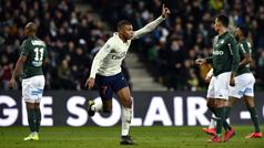 Ligue 1 (J25): Resumen y gol del Saint-Étienne 0-1 PSG