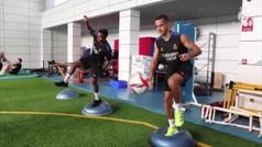 El Real Madrid prosigue la puesta a punto para iniciar la Liga sin Benzemá