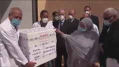 Llegan las primeras vacunas contra la COVID-19 a los campos de refugiados saharauis en Tinduf