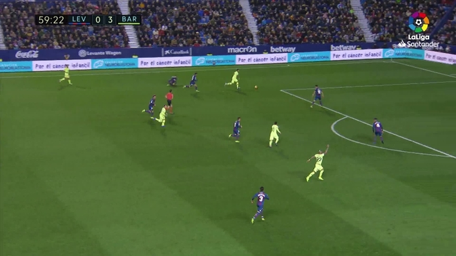 cf6b8093eb Levante vs Barcelona El Barcelona asola el Ciutat - Liga Santander ...