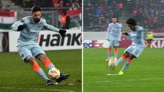 Duelo de golazos de falta entre Willian y Giroud: ¿cuál es mejor?
