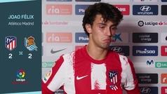"""Joao Félix: """"Tenemos que mejorar la finalización"""""""