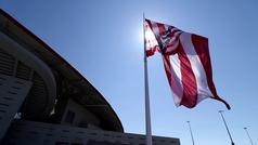 La bandera del Wanda ondeará a media asta en señal de luto