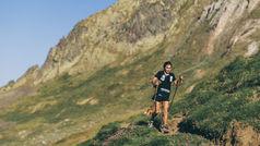 Silvia Puigarnau completa los 162 km del Val d'Aran by UTMB con un fin solidario.