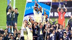 El América logra el 'triplete' en el Apertura 2018