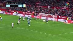 Gol de Mercado (1-1) en el Sevilla 2-1 Espanyol