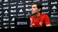 """Marcelino: """"¿Rodrigo al Madrid? Eso hay que preguntárselo a Lopetegui"""""""