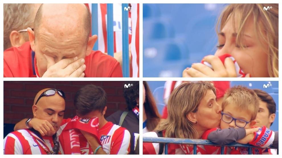 La despedida más emotiva en la historia del fútbol, la del Vicente Calderón