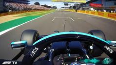 La curiosa petición de Mercedes a Bottas durante el Safety Car
