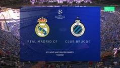 Champions League (Grupo A): Resumen y goles del Real Madrid 2-2 Brujas