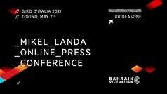 """Mikel Landa: """"Del 'Landismo' nunca me canso, que la gente se divierta"""""""