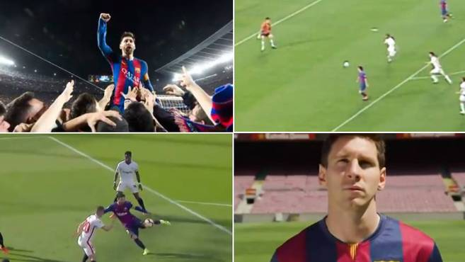 Barcelona |  Messi: Barcelona's emotional tribute to Messi will leave fans with tears in their eyes