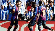 LaLiga (J4): Resumen y goles del Real Sociedad 1-2 Barcelona