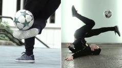 Los espectaculares trucos de Álvaro López para intentar conquistar el Red Bull Street Style 2018