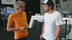 Calleja y Alonso vacilan con el Dakar