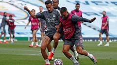 El Madrid se entrena en el Etihad antes del intento de remontada