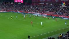 Gol de Boufal (3-2) en el Girona 3-2 Celta