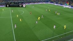 Gol de Ekambi (2-1) en el Villarreal 3-1 Rayo Vallecano