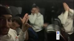 El Madrid de basket se apunta al Baby Shark, el baile viral de moda