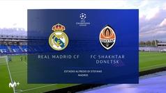 Champions League (J1): Resumen y goles del Real Madrid 2-3 Shakthar Donestk