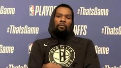 """Durant y Harden analizan la eliminación de los Nets: """"Dimos todo lo que teníamos"""""""