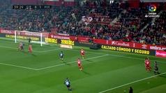Gol de Oro (J23): Gol de Chimy Ávila (0-2) en el Girona 0-2 Huesca