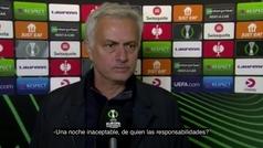 """Mourinho carga contra los suplentes: """"Los que han jugado hoy no tienen el nivel"""""""