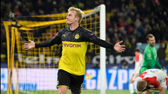 Champions League (Grupo F): Resumen y goles del Dortmund 2-1 Slavia