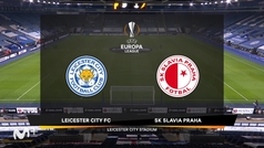 Uefa Europa League (Vuelta de dieciseisavos de final): Resumen y goles del Leicester 0-2 Slavia Prag