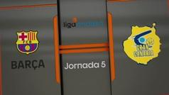 Liga ACB. Resumen: Barcelona 89-75 Gran Canaria