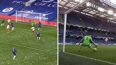 No es la temporada de Kepa: titular en FA Cup... ¡y falla en el primer disparo a puerta!