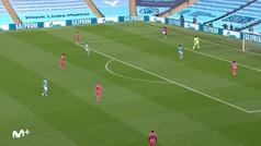 Gol de Sterling (1-0) en el Manchester City 2-1 Real Madrid