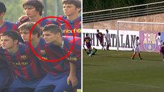 Los mejores goles de Icardi en el juvenil del Barcelona