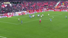 Vaclík demuestra por qué el Sevilla es colíder: ¡paradón en el último minuto!