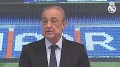 Así fue el mensaje de despedida de Florentino Pérez a Sergio Ramos