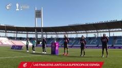 Levante y Atlético de Madrid se disputan la Supercopa de España femenina.