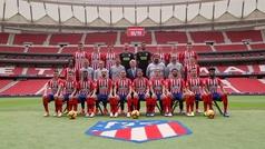 Así se hizo la foto oficial del Atlético de Madrid 2018/19